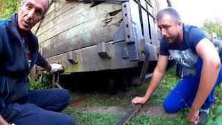 Поезд узкоколейки Матрица срывается с рельс на пути в Отдалённый