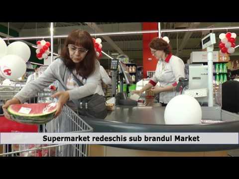 Supermarket redeschis sub brandul Market