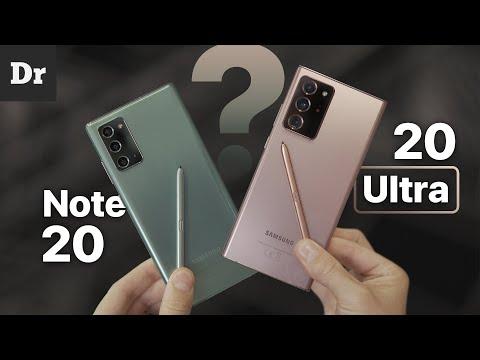 Galaxy Note 20 и Note 20 ULTRA - В ЧЕМ РАЗНИЦА?