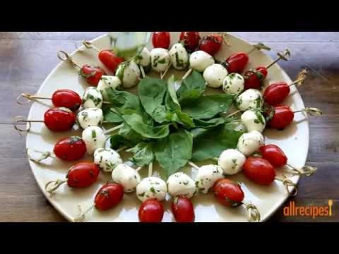 Appetizer Recipes – How to Make Caprese Appetizer