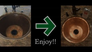 How to Restore & Seal Copper Sinks with ProtectaClear