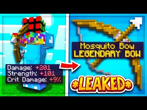 Hypixel Skyblock: *New* DUNGEON BOW LEAKED (MOSQUITO BOW)
