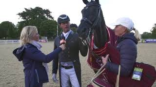"""Carl Hester: """"We're all going home very happy."""""""