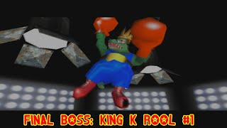 Donkey Kong 64 Final Boss: King K Rool #1
