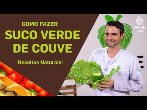 Como fazer suco verde de Couve | Receitas Naturais | Saúde Total