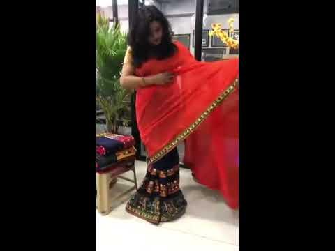 Kachchi Aari Work Designer Saree