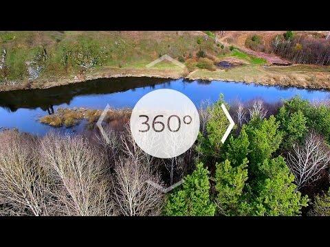 Надслучанская Швейцария. Моя страна 360
