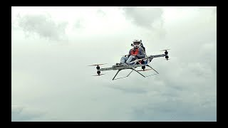 """Personal electric flying """"sports car"""" EVTOL - manned flight"""