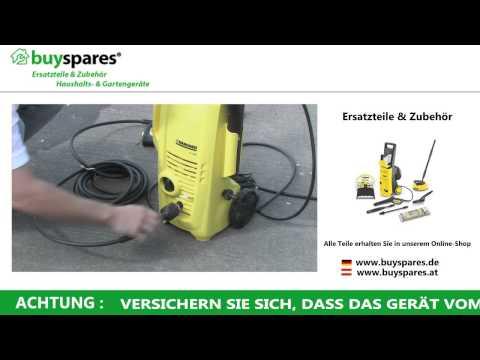 Anleitung: Kärcher Hochdruckreiniger Schlauch & Pistole richtig auswechseln
