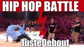 HIP-HOP style dance Battle Kyoka & Mika (Japan) vs Tea Leaf & Bowtox (Canada)