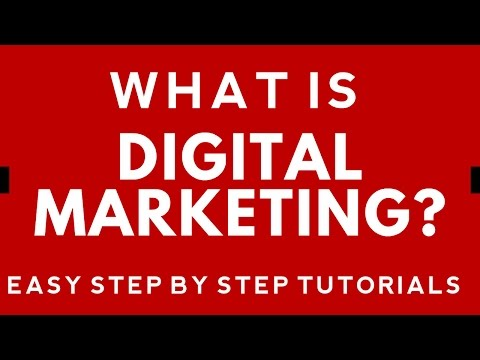What is Digital Marketing? Step By Step Digital Marketing Tutorial
