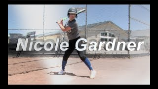 2020 Nicole Gardner Catcher and Third Base Softball Skills Video