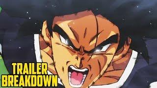 DRAGON BALL SUPER: BROLY - Movie Trailer Breakdown