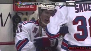 Matt Cooke's Nasty Hit On Ryan McDonagh - 03/20/2011