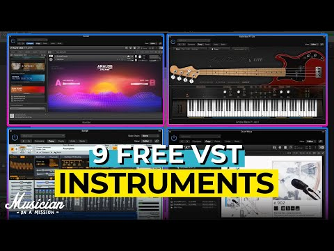 9 Free VST Instruments You Need in 2020