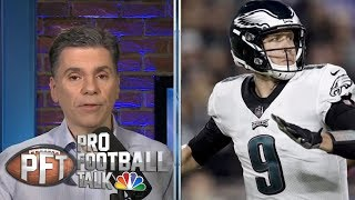 Complications ensue if Philadelphia Eagles tag and trade Nick Foles | Pro Football Talk | NBC Sports