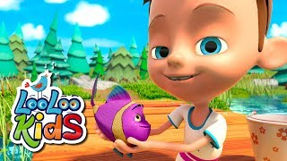 🐟 Once I Caught a Fish Alive 🐟 THE BEST Songs for Children | LooLoo Kids