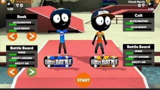Stickman Skate Battle Beta is available soon so prepare for your first Battle: