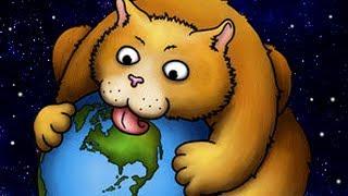 ГРОМАДНЫЙ КОТИК ОБЖОРА СЪЕЛ ВСЮ ПЛАНЕТУ В ИГРЕ Tasty Planet Forever ЭВОЛЮЦИЯ КОТА
