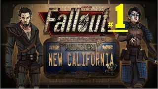 Fallout New California Mod New Vegas - Go to Valt 18 Security - Gameplay Part 1