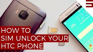 How to SIM unlock your HTC phone
