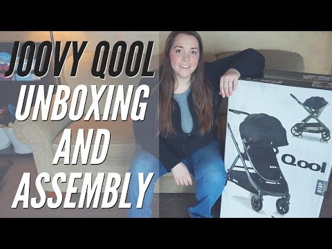 Joovy Qool Unboxing and Assembly // Single, Double & Triple Stroller!