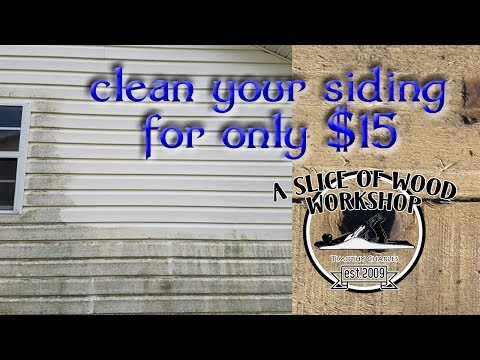 Easy and Cheapest Way to Clean Your Siding