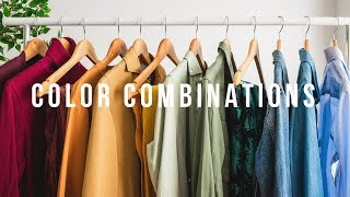 5 Go-To Color Combinations | Mens Outfit Inspiration