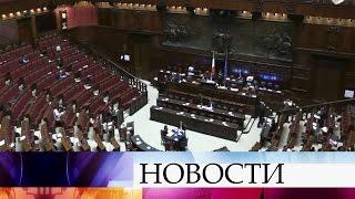 Министр иностранных дел Италии высказался заотмену санкций вотношении России.