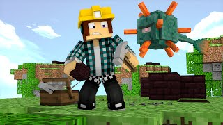 Minecraft: CONSTRUA OU MORRA !! - ( Novo Mini-Game)