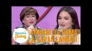 Momshie Annabelle's message to Sarah Lahbati | Magandang Buhay