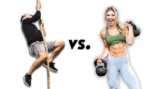 Olympian Vs. Instagram Model Workout Challenge