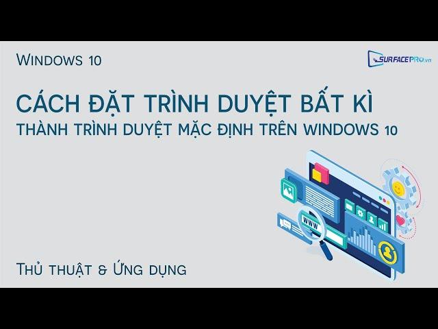 Cách đặt trình duyệt mặc định trên Windows 10