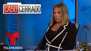 Video oficial del controvertido programa de Telemundo Caso Cerrado. Los momentos de los casos más impactantes que han llegado hasta el tribunal de la Doctora Ana María Polo.  Para ver los capítulos completos visita:  http://www.telemundo.com/CasoCerrado Facebook: http://www.facebook.com/casocerradotelemundo Twitter: http://twitter.com/#!/CasoCerradoTV YouTube: http://www.youtube.com/CasoCerrado  SUSCRÍBETE: http://bit.ly/1Mycpkm  Caso Cerrado: Caso Cerrado es conducido por la querida Doctora en leyes Cubana-Americana Ana María Polo. Este programa presenta casos conflictivos y conmovedores entre participantes en litigio, vas a sentirte identificado, querrás tomar partido y ser testigo de la solución y decisión basadas en la verdad y en las evidencias.  Telemundo App Telemundo - Capítulos Completos es tu destino digital para disfrutar la programación que te gusta! Mira episodios completos de tus shows favoritos de Telemundo, televisión en vivo y contenido exclusivo al descargar el app Telemundo - Capítulos Completos y entrar con tu cuenta de proveedor de TV.  Telemundo Es una empresa de medios de primera categoría, líder en la industria en la producción y distribución de contenido en español de alta calidad a través de múltiples plataformas para hispanos en los Estados Unidos y alrededor del mundo. La cadena ofrece producciones dramáticas originales de Telemundo Studios – el productor #1 de contenido en español de horario estelar – así como contenido alternativo, películas de cine, especiales, noticias y eventos deportivos de primer nivel, alcanzando el 94% de los televidentes hispanos en los Estados Unidos en 210 mercados a través de 17 estaciones propias y 57 afiliadas de TV abierta. Telemundo también es propietaria de WKAQ, una estación de televisión local que sirve Puerto Rico. Telemundo es parte de NBCUniversal Telemundo Enterprises, una división de NBCUniversal, una de las compañías líderes en el mundo de los medios y entretenimiento. NBCUniversal es una subsidi