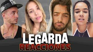 LEGARDA REACCIONES (Luisa Fernanda W, J Balvin, Maluma, Karol G)