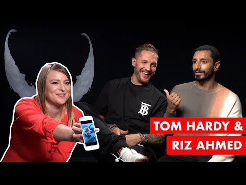 Tom Hardy and Riz Ahmed name a puppy!