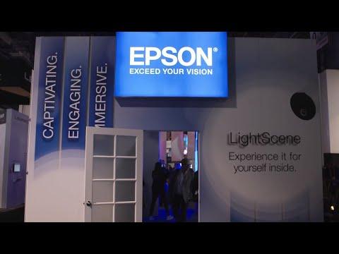 Epson Laser Lighting Projector EV-100