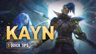 5 Quick Tips To Climb Ranked: Kayn