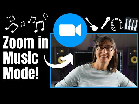 Zoom In Music Mode For Online Fitness Classes and Music Lessons #Zoom