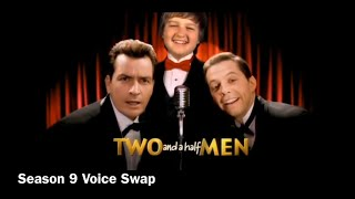 Two And A Half Men Intros: Voice Swaps