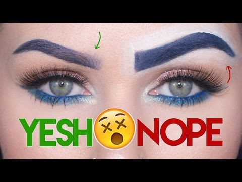 Eyebrows 101: Makeup Mistakes & Tips   | KristenLeanneStyle