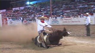 accidente caballos de cala Campeonato Charro Ibarria 2015