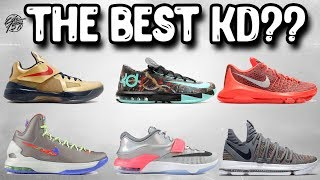 Whats The Best Kd Basketball Shoe?! Looking At The Nike KD Line!