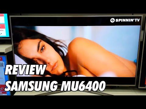 Review Samsung MU6400 - MU6405 - MU6445 Television 4K UHD HDR Smart TV 2017