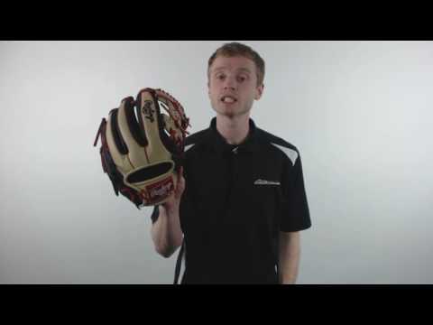 "Rawlings Heart of the Hide Dual Core 11.5"" Baseball Glove: PRO314DC-2BCS"