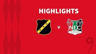 Samenvatting NAC Breda - N.E.C. (04-10-2019)
