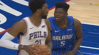 Joel Embiid Schools Mo Bamba Then Mo Bamba Gets Revenge! Sixers vs Magic