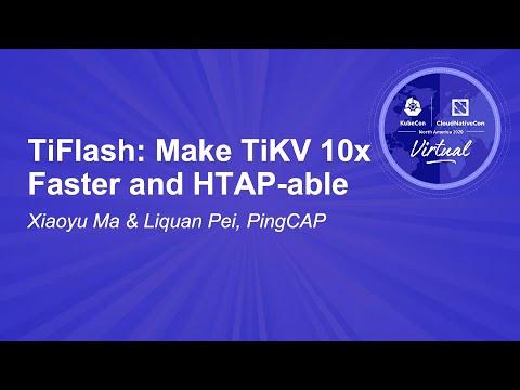 Image thumbnail for talk TiFlash: Make TiKV 10x Faster and HTAP-able