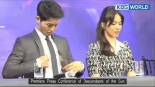 Song Joong Ki: The Different Between Song Joong Ki To Park Bo Young, Moon Chae Won And Song Hye Kyo