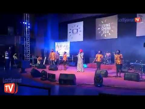 TOYOSI AKINYA,SHOLA ALLYSON AND TOPE ALABI Live @ LIVING SPRING 2018